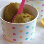 Kiwi Eis mit Matcha Ingwer und Vanille