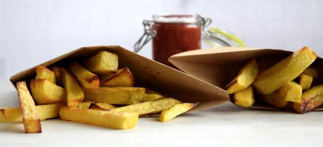 Pommes selber machen aus dem Ofen