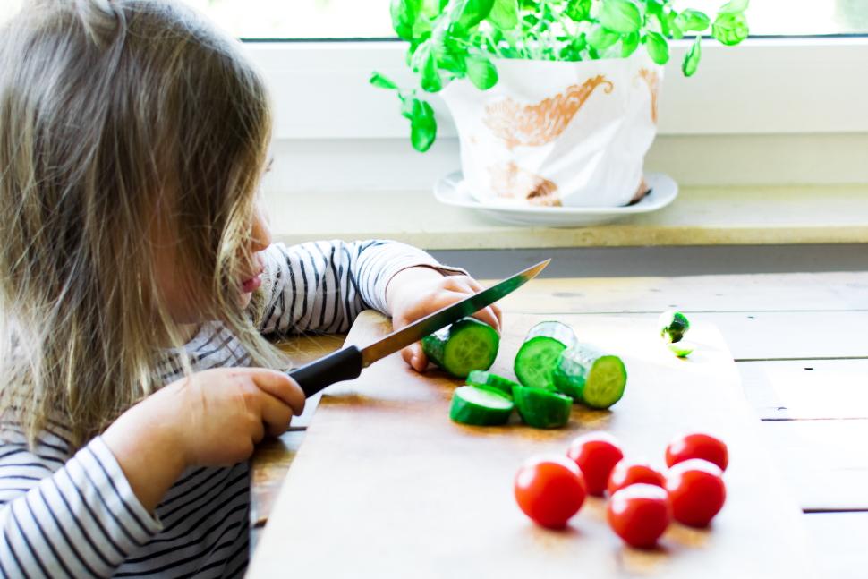 Kind isst kein Gemüse
