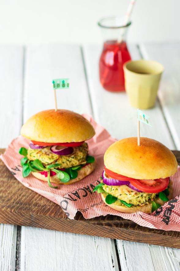 Veggie Burger selber machen