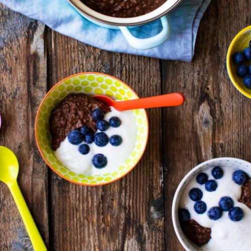 Haferflocken zum Frühstück zuckerfrei